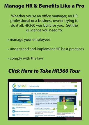 HR360's HR Library Tour - Welcome Email tour